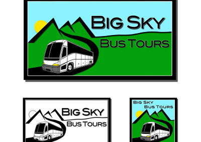 Big Sky Bus Tours Logo
