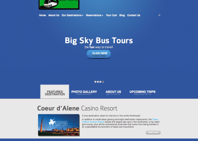 Big Sky Bus Website